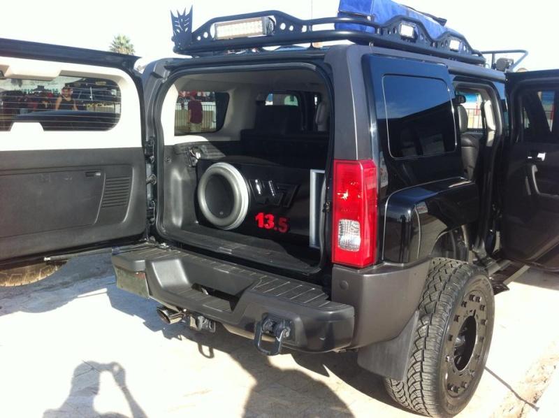 Hola desde México esta es mi hummer ; présentationd'un Hummer H3 du Mexique 11223810