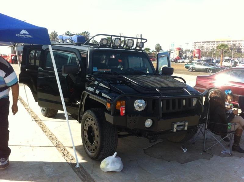 Hola desde México esta es mi hummer ; présentationd'un Hummer H3 du Mexique 12278610