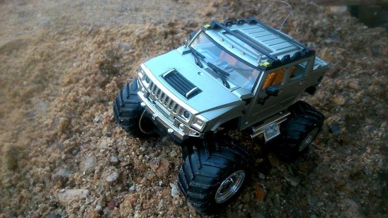 Présentation de mon nouveau Hummer H2 ! 100 % écologique car électrique 12360310