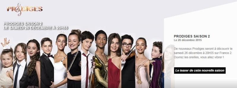 L'émission prodige sur France 2 Prodig10