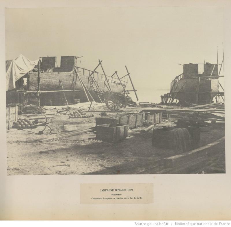 Chaloupe canonnière 1858 - 1:75 Btv1b610