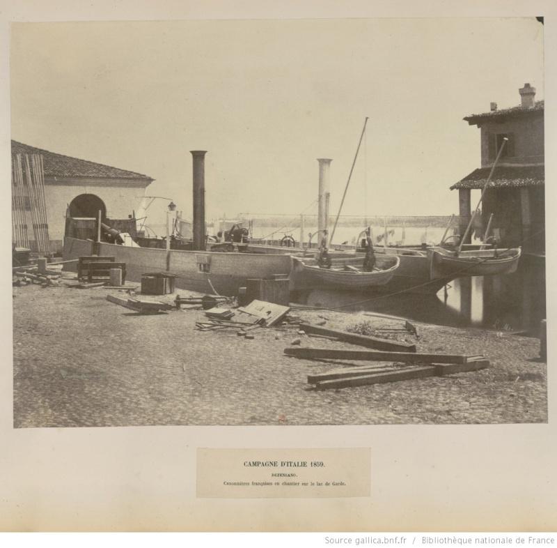 Chaloupe canonnière 1858 - 1:75 Btv1b611