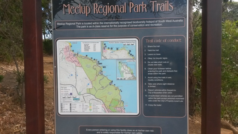 Dunsborough Trail Running - Meelup Regional Park 20160112