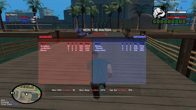 MoP vs DOM Sa-mp-11