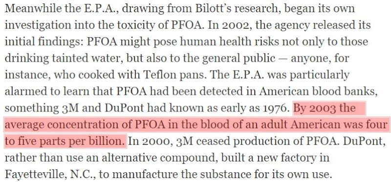 Got about 10 minutes to spare?  This article describes how we are being poisoned. Dupont15