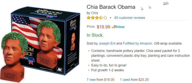 Chia Obama???  I shit you not Obama10