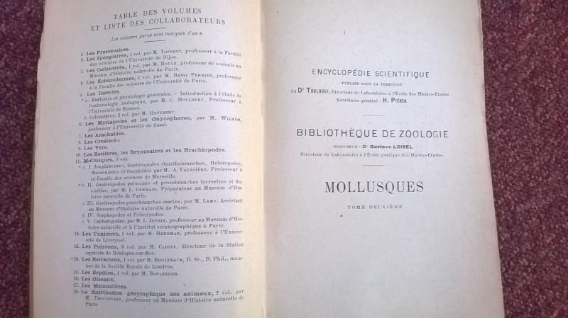 Mollusques de la France et des régions voisines - L. Germain Wp_20111