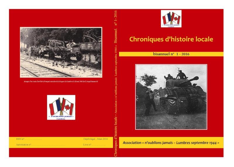 Sortie prochaine des Chroniques d'histoire locale  Couver10