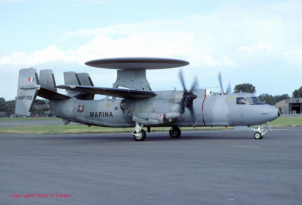 Grumman E-2C Hawkeye Mexican Navy (Fujimi 1/72) 45567312
