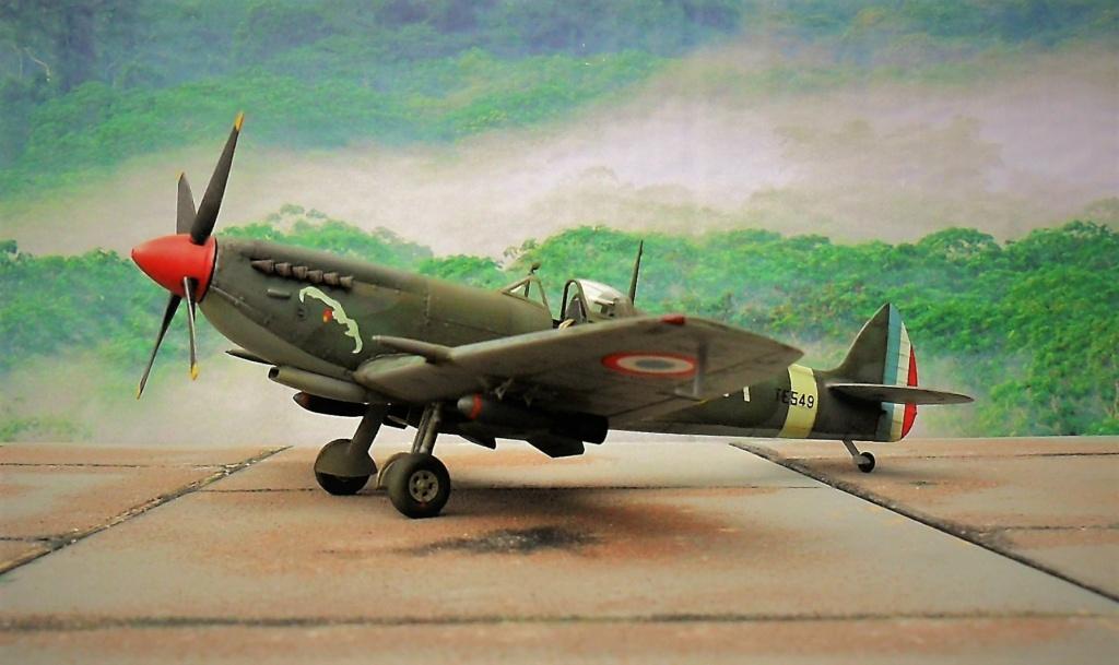 spitfire IXe Armée de l'air -   indochine  vautré    - 1/48 eduard +  plein de résine  - Page 6 Iincro11