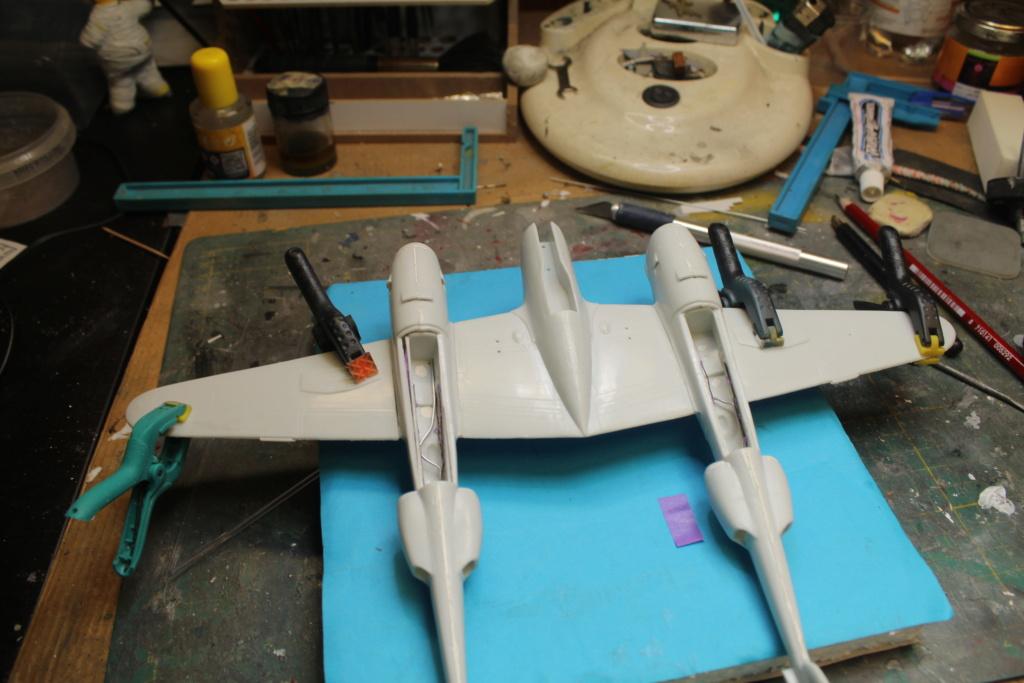 P-38 Little Buckaroo Minicraft 1/48e  - Page 6 Img_5211