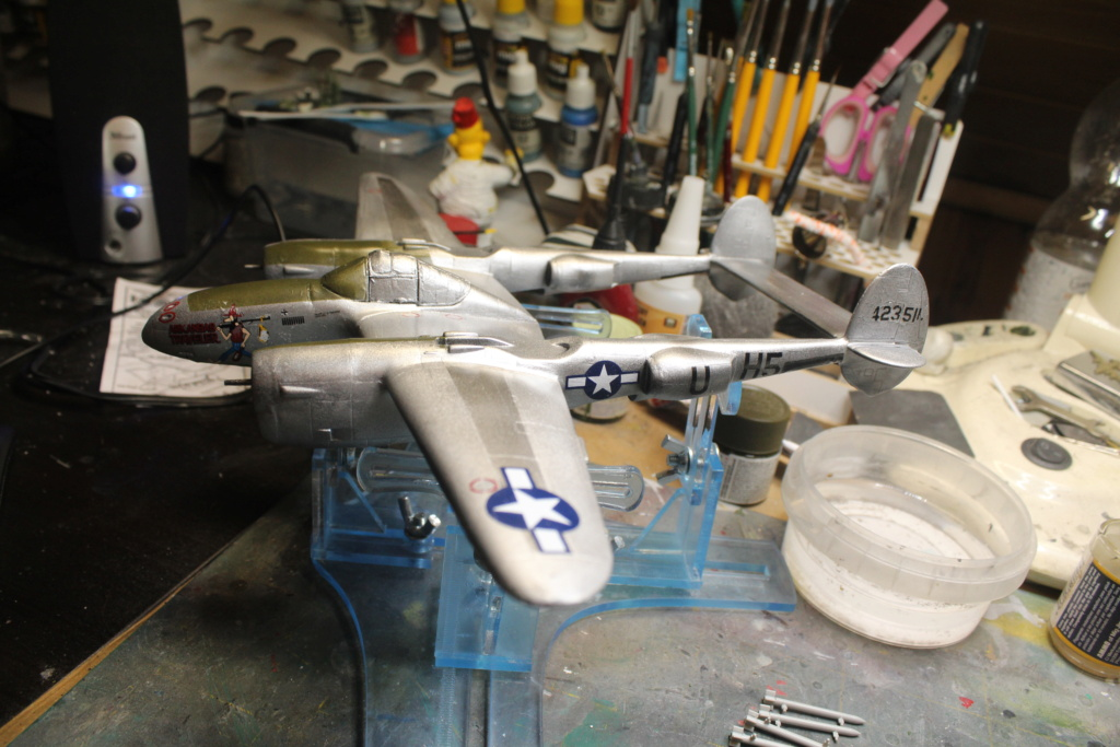 P-38 Arkansas express Minicraft 1/48e  - Page 12 Img_5913