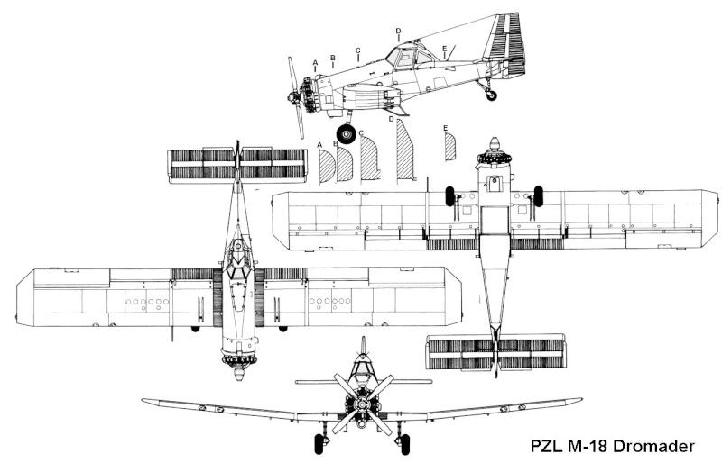 pzl-mielec m-18 dromader 1:87 Pzl_dr11