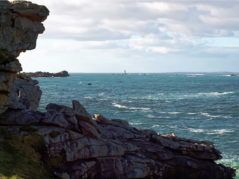Le phare du Four par beau temps P1280310