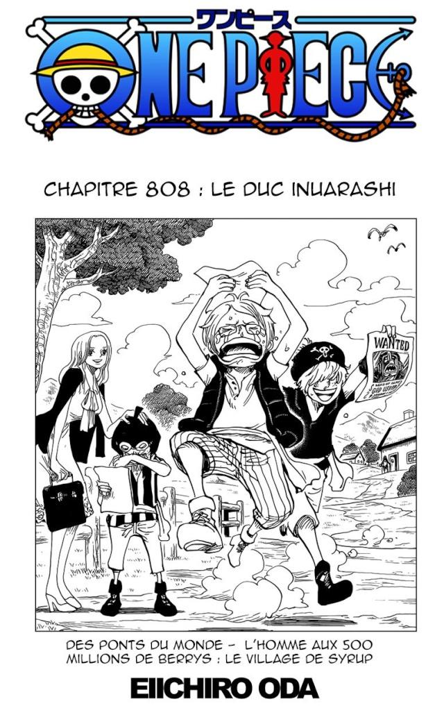 One Piece Chapitre n°808 Op11