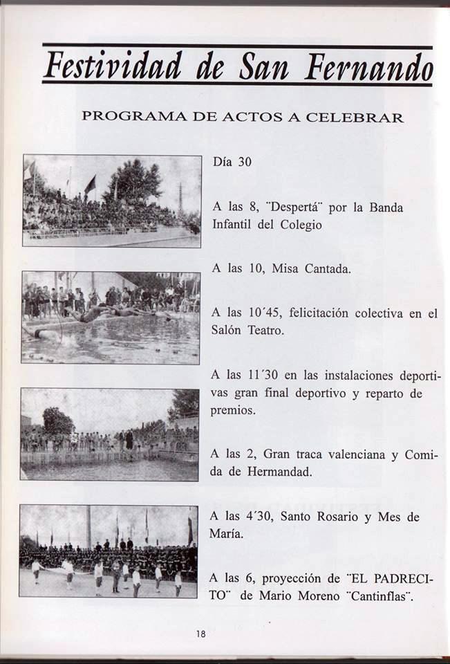 Recortes de Prensa de José Tébar de las semanas deportivas Festiv10