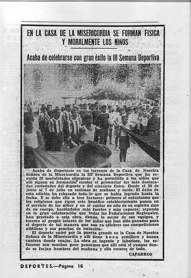 Recortes de Prensa de José Tébar de las semanas deportivas Iii_se10