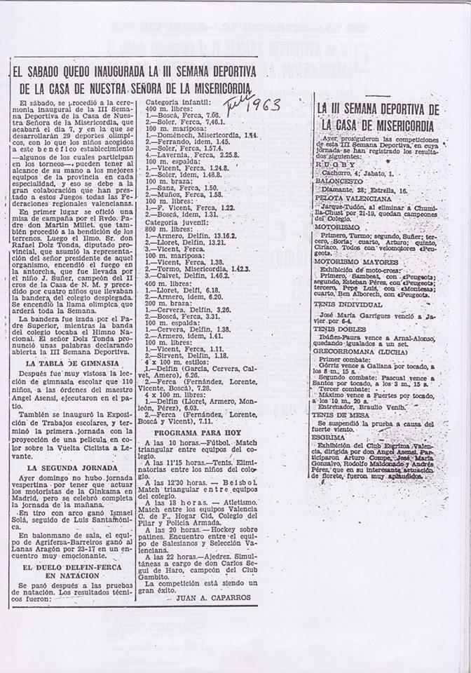 Recortes de Prensa de José Tébar de las semanas deportivas Iii_se11