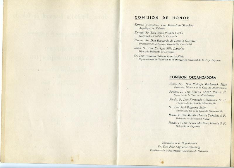III Semana deportiva del 30 de Junio al 7 de Julio 1962 Instal13