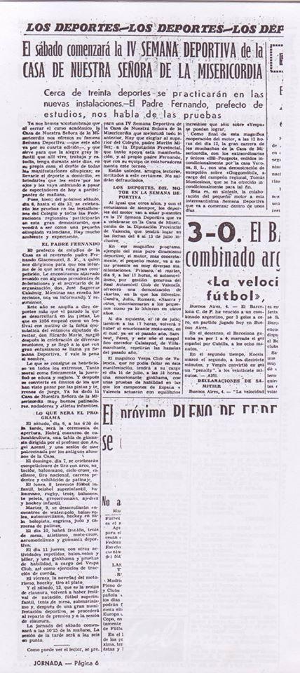 Recortes de Prensa de José Tébar de las semanas deportivas Iv_sem10