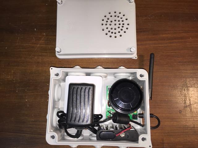 TUTORIEL : intégrer la sirène relais dans un boitier électrique Img_2913