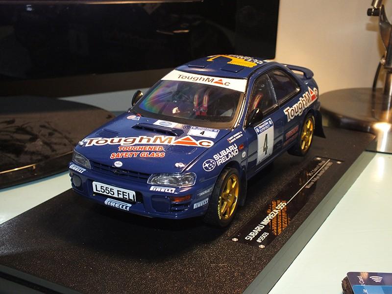 1/18 Bertie Fisher Subaru Impreza 555 Ulster Rally 1996 Dscf8510