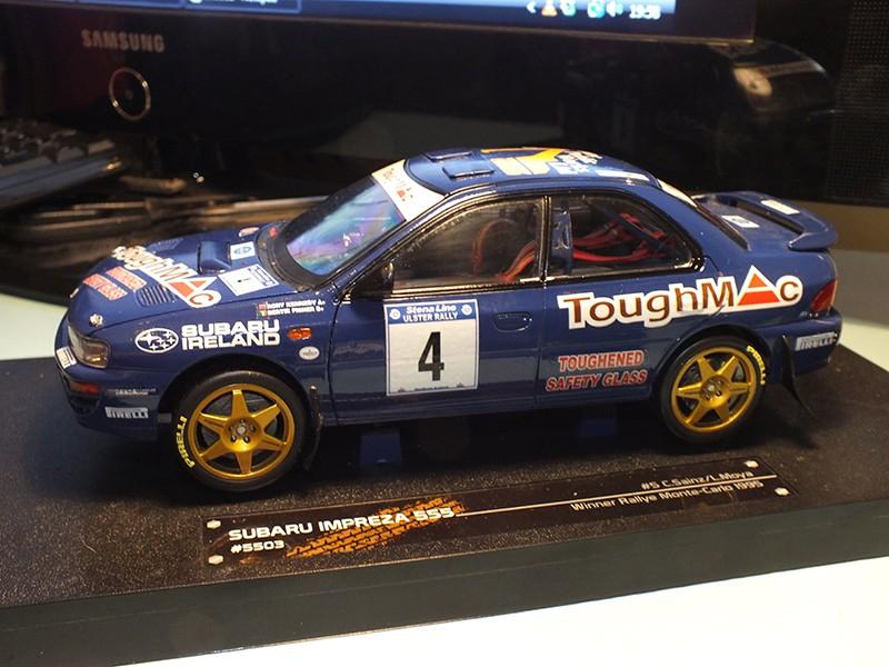 1/18 Bertie Fisher Subaru Impreza 555 Ulster Rally 1996 Dscf8511