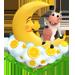 Déco Vache dans la Lune [Décoration à collecte limitée] Overth10