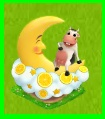 Déco Vache dans la Lune [Décoration à collecte limitée] Sans_134