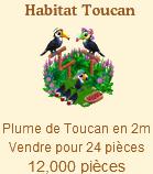 Habitat Toucan => Plume de Toucan Sans_245
