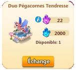 Duo Pégacornes Tendresse / Duo Pégases Glamour => Opale Sans_429