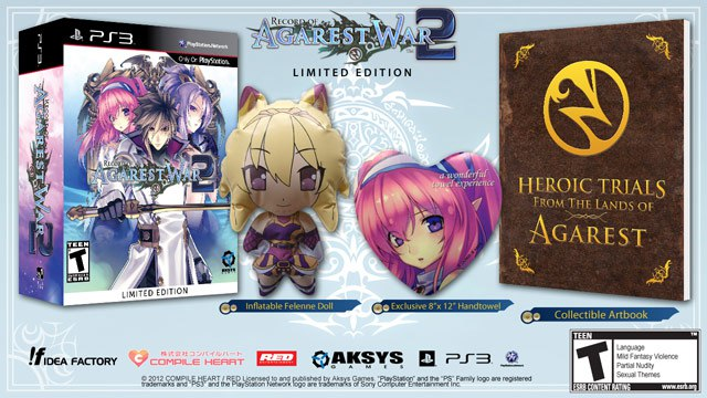 Agarest 2 Generations Of War Collector Record10