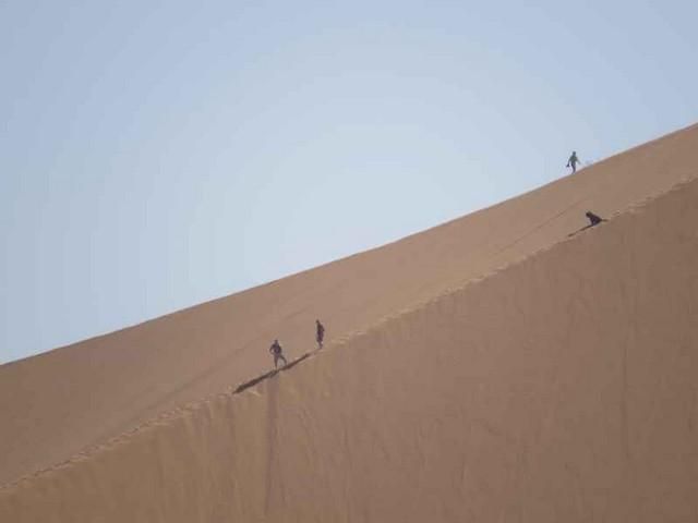 A Merzouga : Choix du camping et la bonne balade dans le desert Copie_30