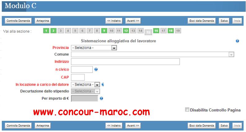 شرح مفصل بالصور لمختلف مراحل عملية التسجيل لتقدم للعمل في إيطاليا وفق قانون التدفقات الموسمية فلوسي Decreto flussi 2016 1510