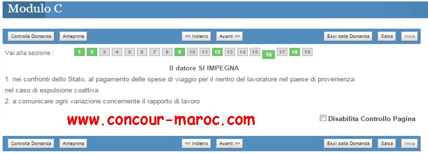شرح مفصل بالصور لمختلف مراحل عملية التسجيل لتقدم للعمل في إيطاليا وفق قانون التدفقات الموسمية فلوسي Decreto flussi 2016 1610
