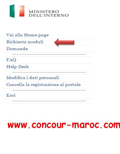 شرح مفصل بالصور لمختلف مراحل عملية التسجيل لتقدم للعمل في إيطاليا وفق قانون التدفقات الموسمية فلوسي Decreto flussi 2016 610