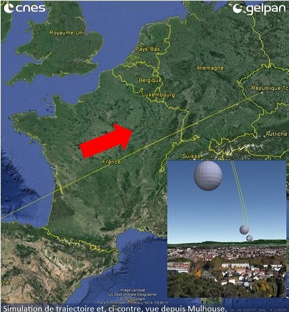 GEIPAN - 1990: le 05/11 à tout de début de soirée - Ovni triangulaire volant -  Ovnis à Mont sous Vaudrey - Jura (dép.39) 199010
