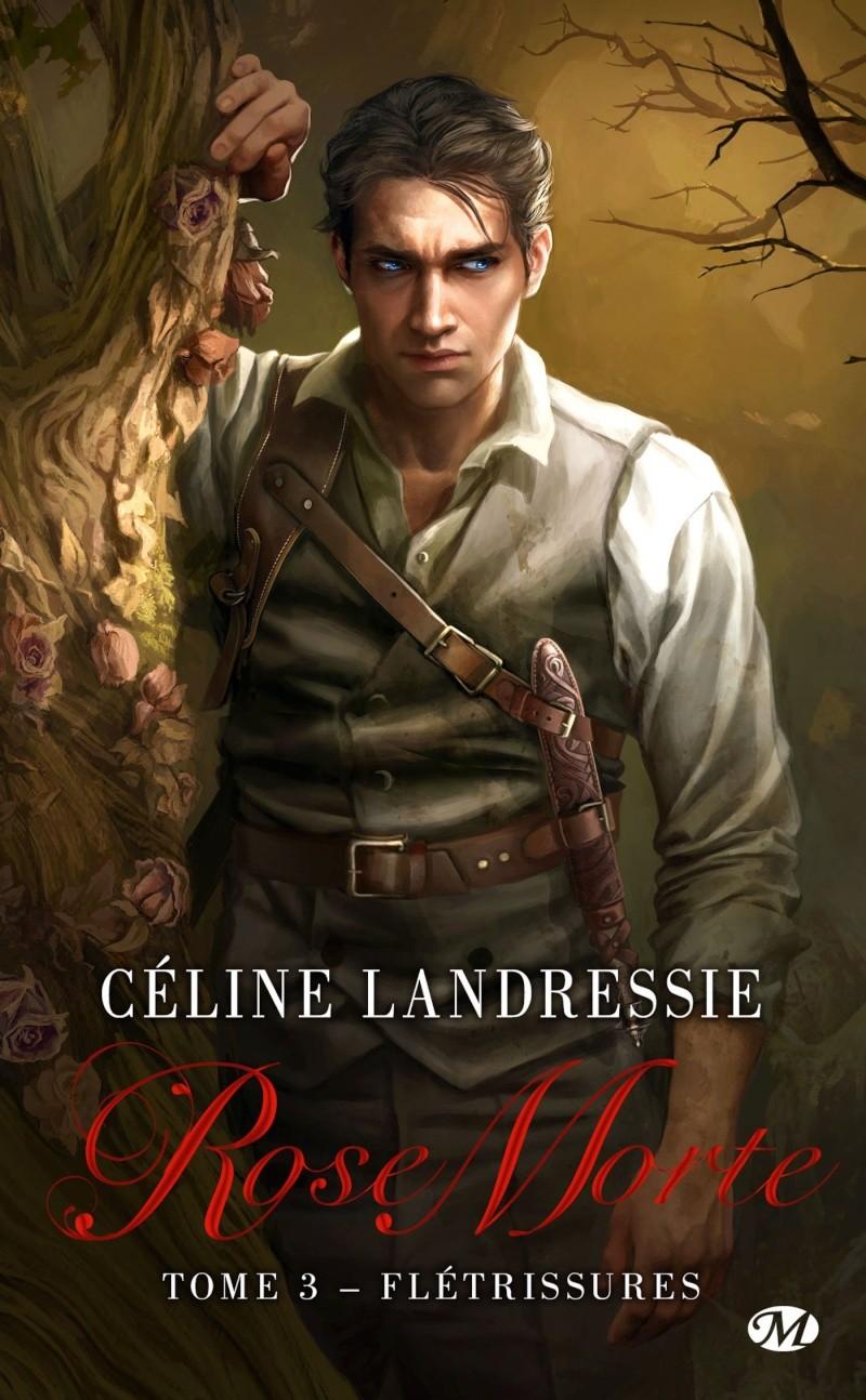 LANDRESSIE Céline - ROSE MORTE - Tome 3 : Fletrissures Rose_m10