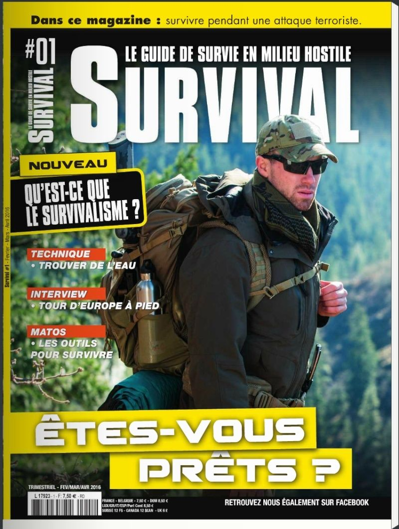 SURVIVAL N°1 FEVRIER MARS AVRIL 2016 Captur10