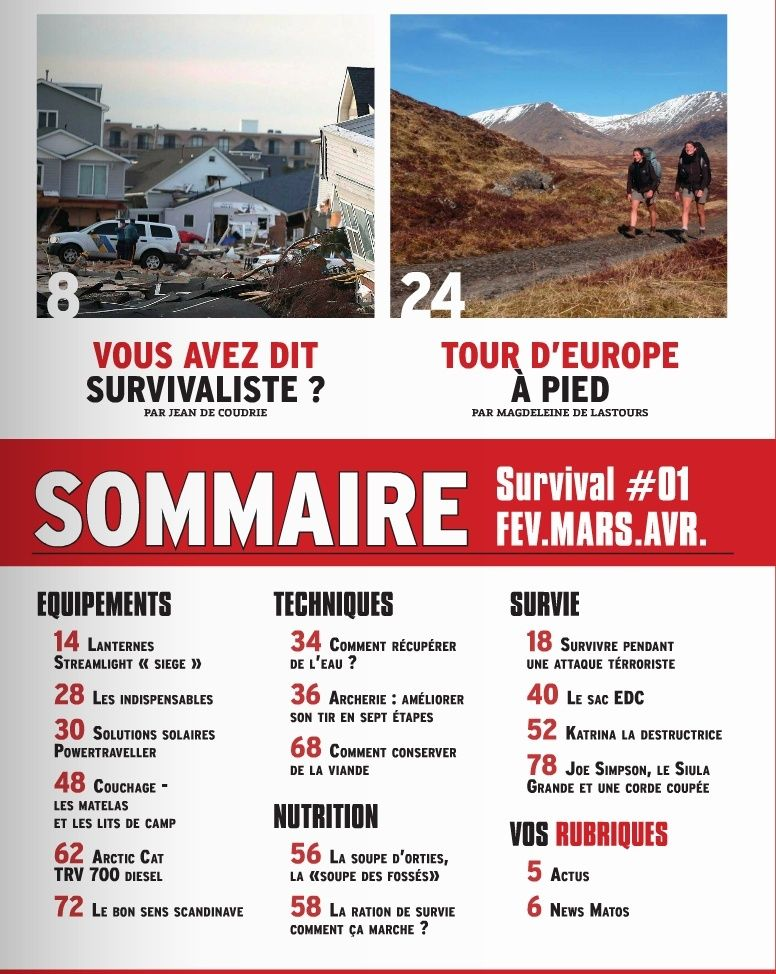 SURVIVAL N°1 FEVRIER MARS AVRIL 2016 Captur11