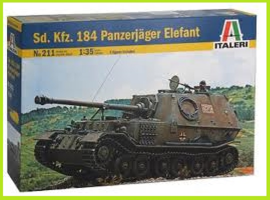sdkfz - Sdkfz.184 elefant 1/35 italeri ref 211 211_gu10
