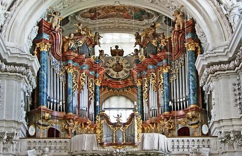 Mendelssohn, Schumann, Brahms et l'orgue romantique allemand Waldsa15