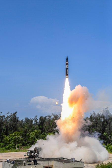 Indian Ballistic Missile Defence Programme Agni_p12