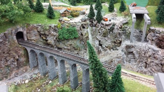 Gorges du Fier , nouveaux fond de décor Viaduc10