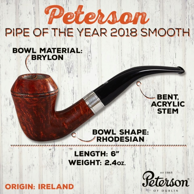 Is Peterson Making pipes out of Brylon? Brylon10