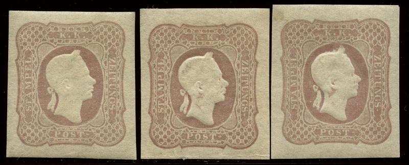 DIE ZEITUNGSMARKEN AUSGABE DES JAHRES 1861 1894_g10