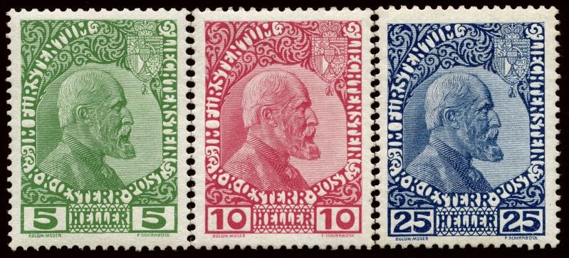 Liechtenstein - Liechtenstein ab Mi. Nr. 1  1x_bis10