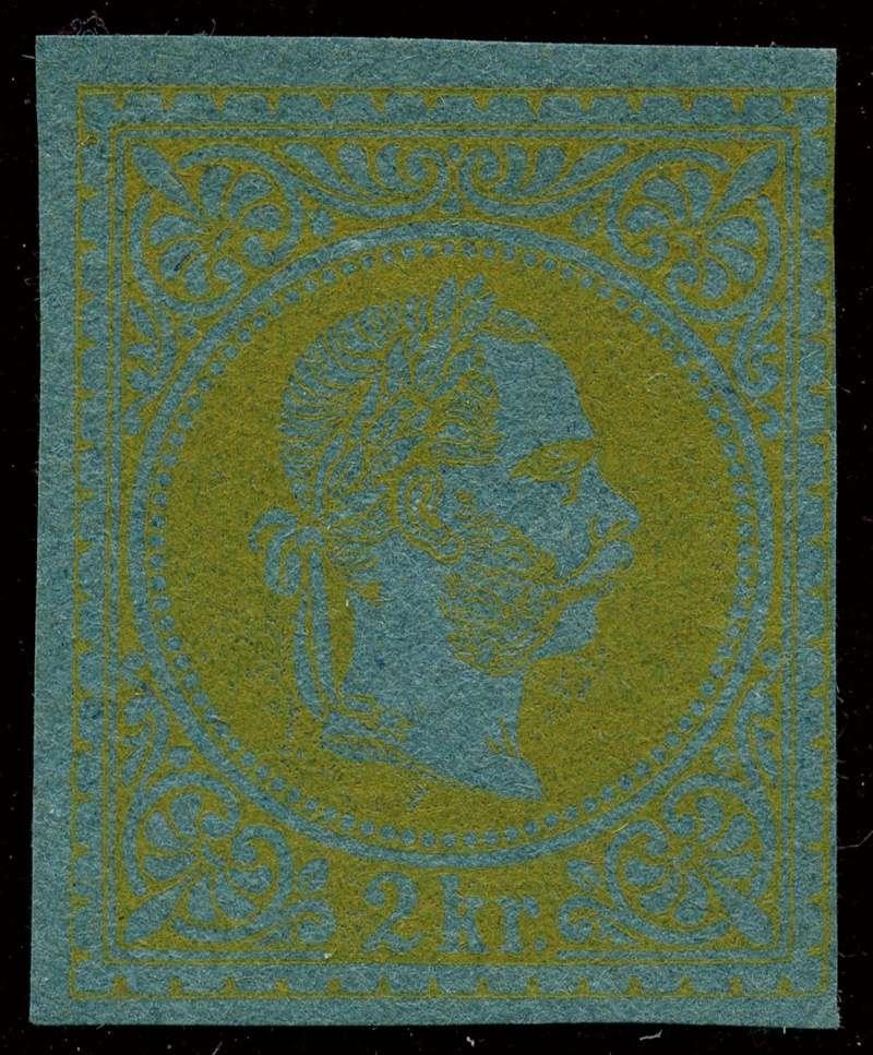 Freimarken-Ausgabe 1867 : Kopfbildnis Kaiser Franz Joseph I - Seite 10 35_and11