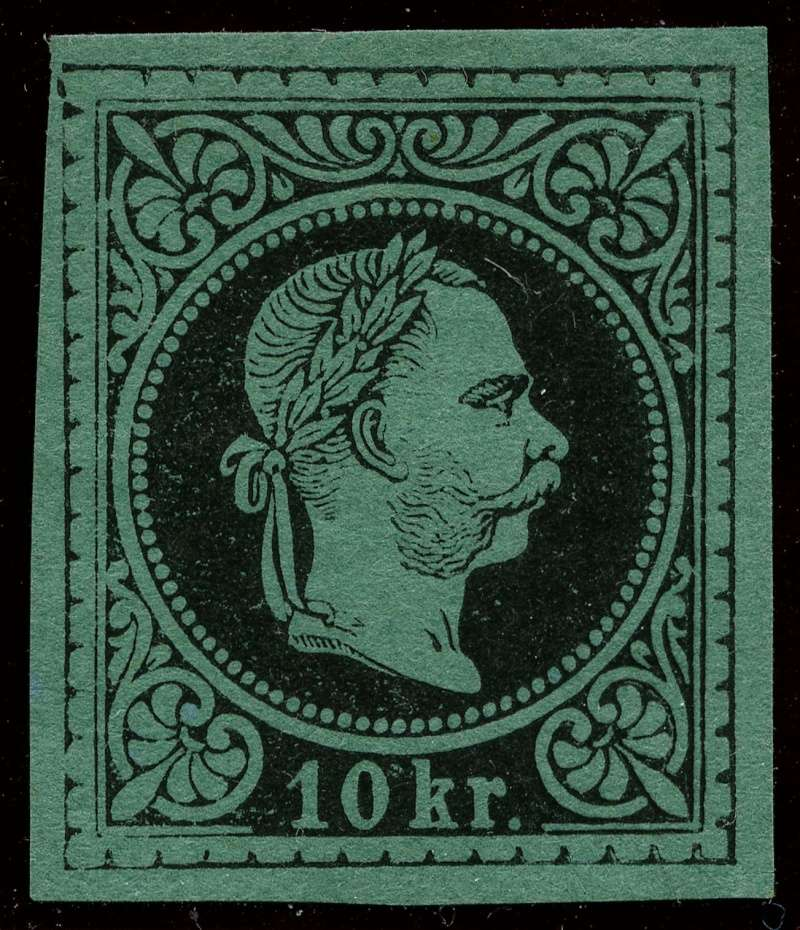 Freimarken-Ausgabe 1867 : Kopfbildnis Kaiser Franz Joseph I - Seite 10 38_and11
