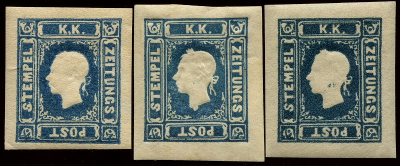 DIE ZEITUNGSMARKEN AUSGABE 1858 Img64210